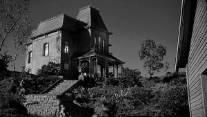 Bates Motel in Alfred Hitchock's Psycho 1960