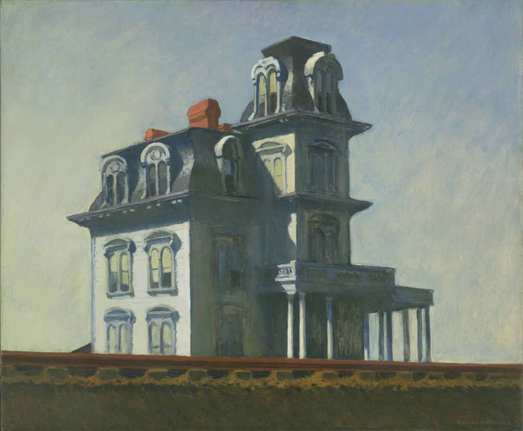 Edward Hopper, House by the railroad (1925). Courtesy Museum of Modern Art New York